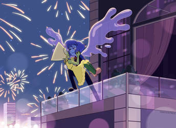 Happy New Year by Kyriena