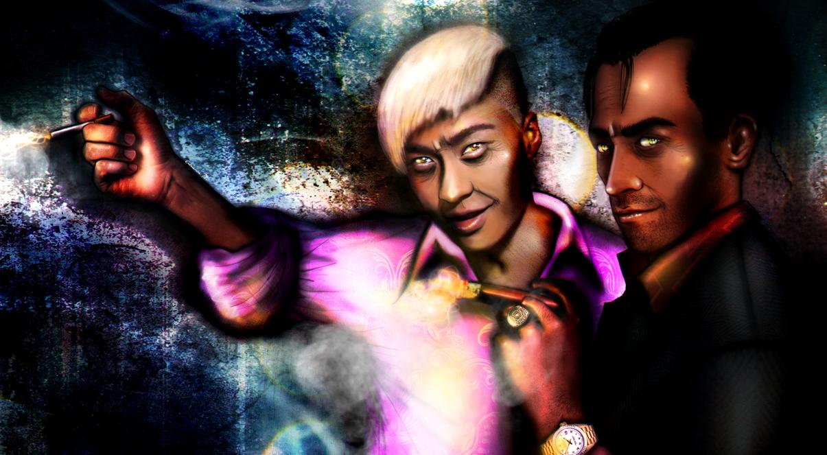 The Smoke-Joint Mafia - Pagan \ Hoyt by Almesiva-Moonshadow