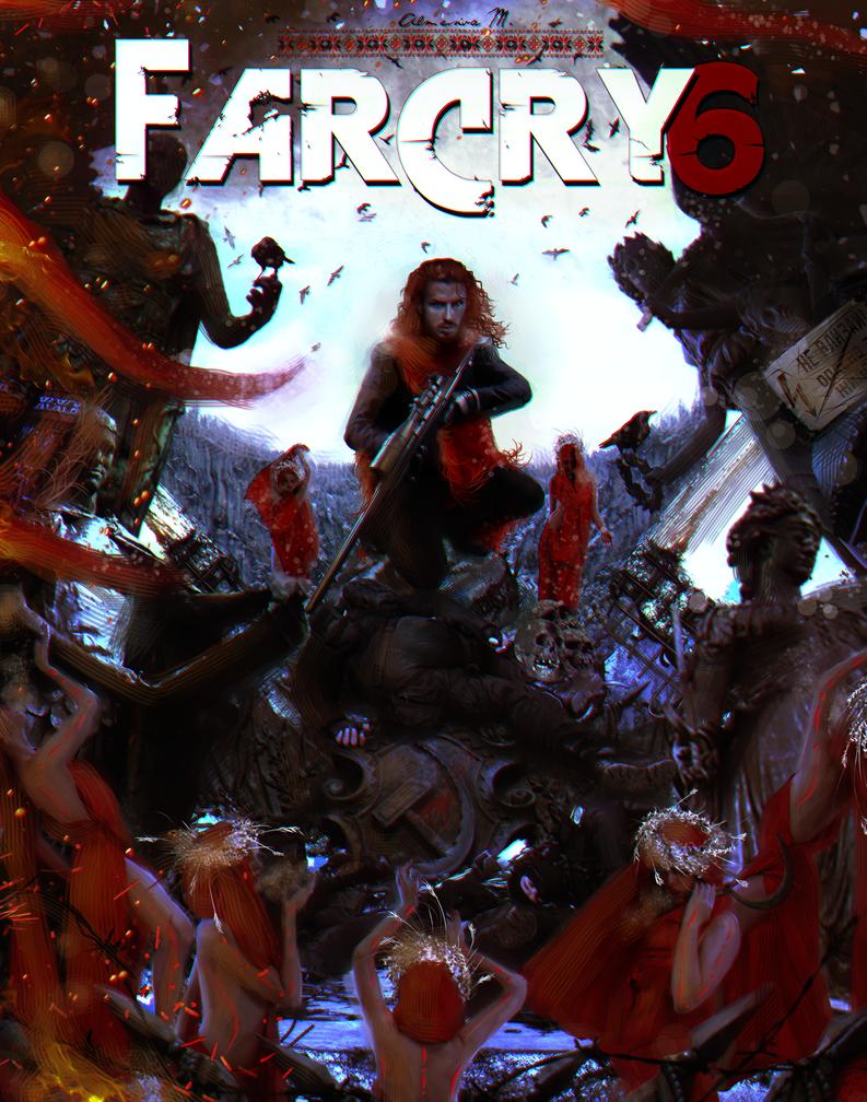 far cry 6 poster vaas