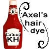 Axel's hair dye by Natsuko304