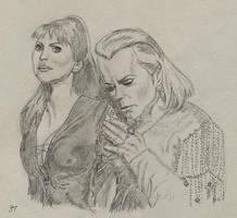 Milady de Winter and Richelieu by Alistanniel