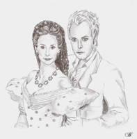 Elisabeth and Death by Alistanniel