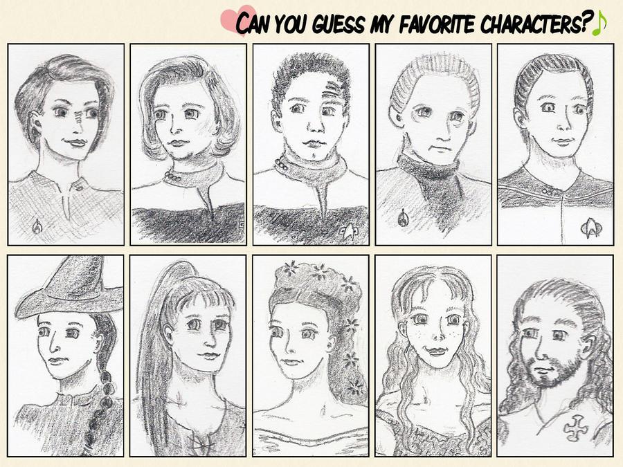 Favorite Star Trek + Musical Characters Meme by Alistanniel