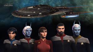 Concorde Star Trek Online by Alistanniel