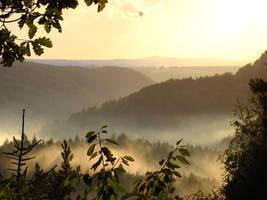 Mystical evening view by Alistanniel