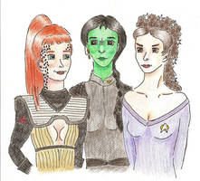 Musical Ladies go Star Trek by Alistanniel