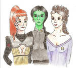 Musical Ladies go Star Trek