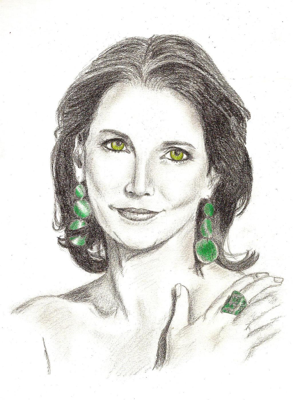 One more Maya Hakvoort Portrait by Alistanniel