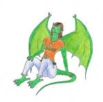 Me as a gargoyle