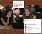 Maura loves Facebook