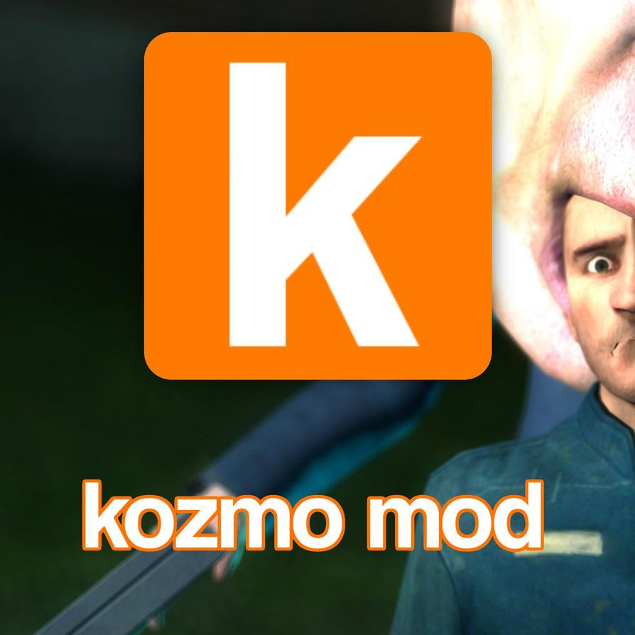 Kozmo Mod (Garry's Mod logo parody) by KozmoMod