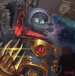 Luna the Warmaster by StellarCult