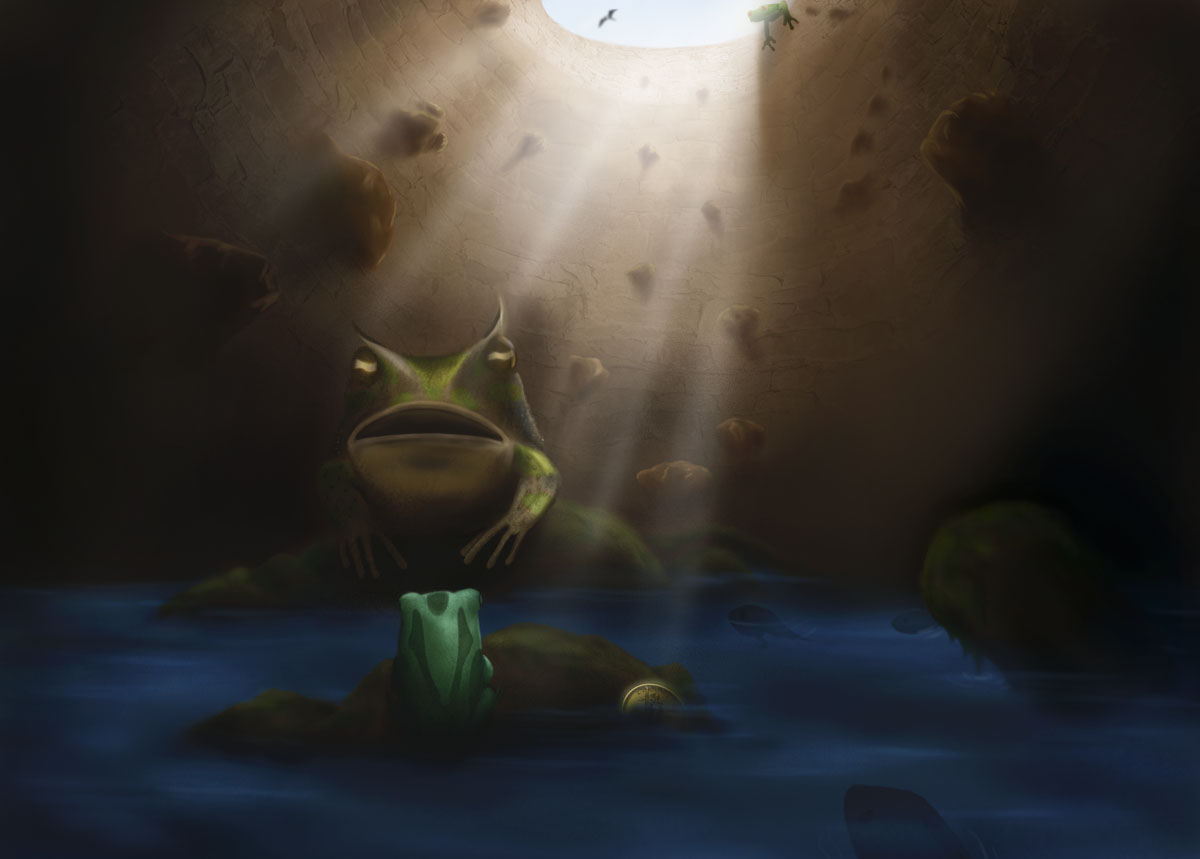 A big fish in a small pond by eason41 on deviantart for Big fish in a small pond
