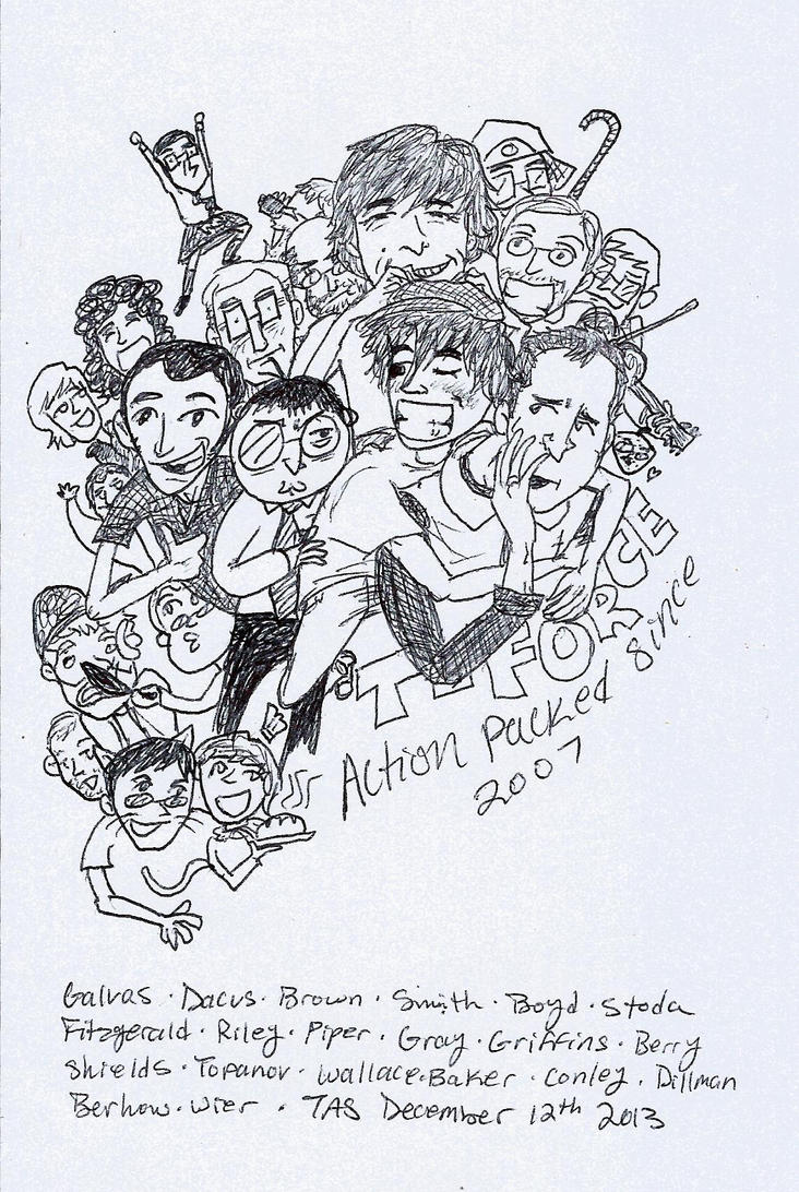 Action Packed est. 2007 by TAStheResidentArtist