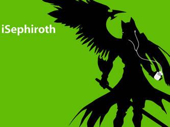 iPod Spoof - KH's Sephiroth by Schala-Kitty
