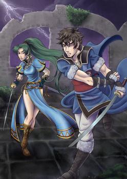 Battle in the Broken Temple (Fire Emblem Heroes)