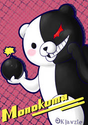 Monokuma is da bomb (Danganronpa fanart)