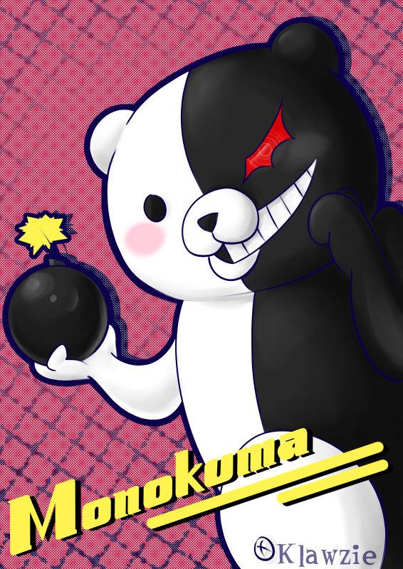 Monokuma is da bomb (Danganronpa fanart)