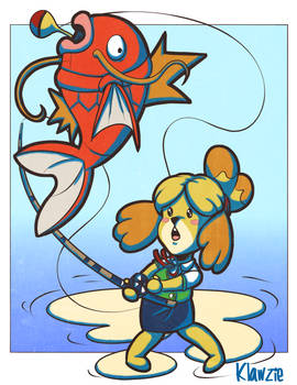 Catch (Isabelle and Magikarp)