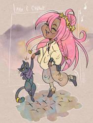 Laha and Crowe (Ryuutama)