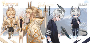 [CLOSE] ADOPTABLE#VII#VIII - Gold and Silver