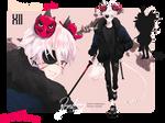 [CLOSE] ADOPTABLE #XII - the Tengu Slasher