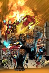 Marvel 2 in 1 cover