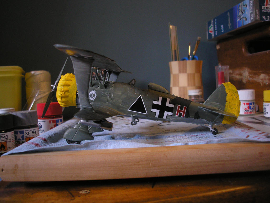 Hs 123 C-1 (Balkans) 1:48 by KK-Afterbrun
