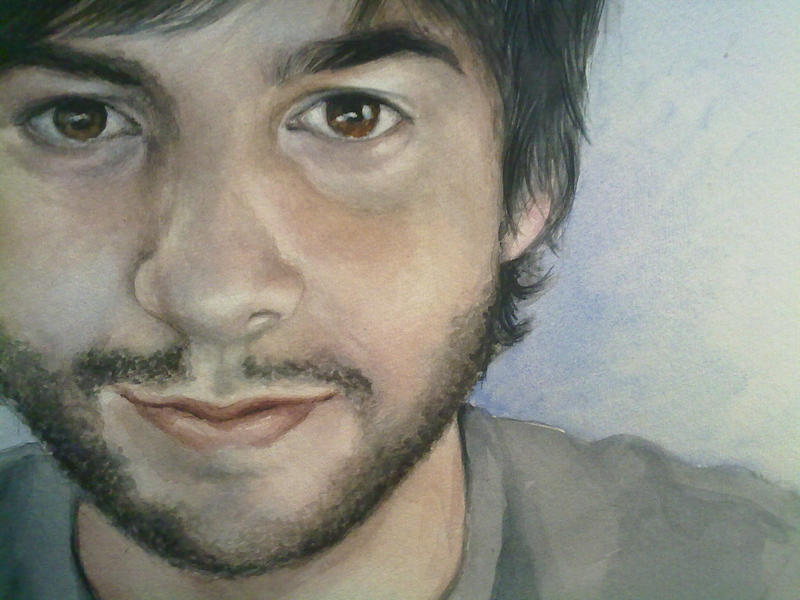 Realistic Watercolor Portraits Watercolor Portrait by