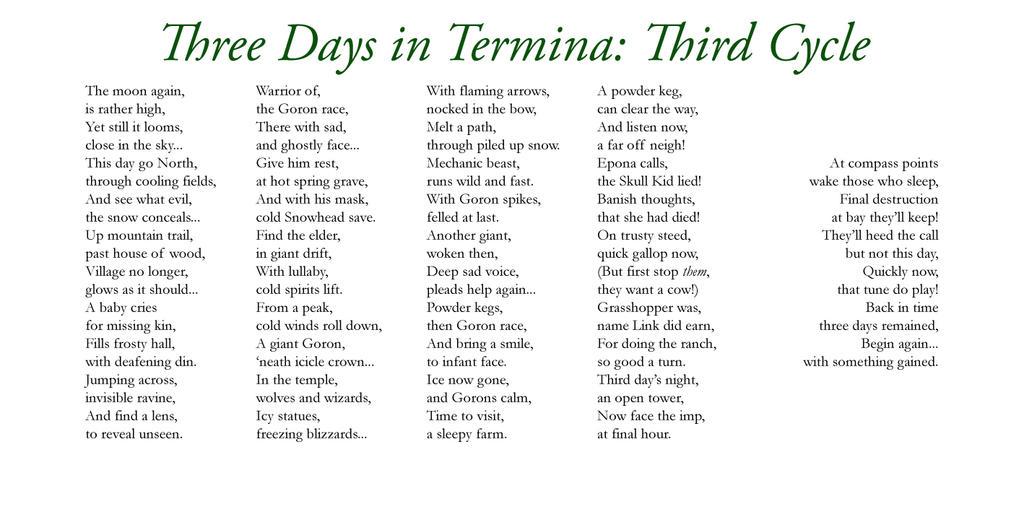 Three Days in Termina - Three by Liefesa