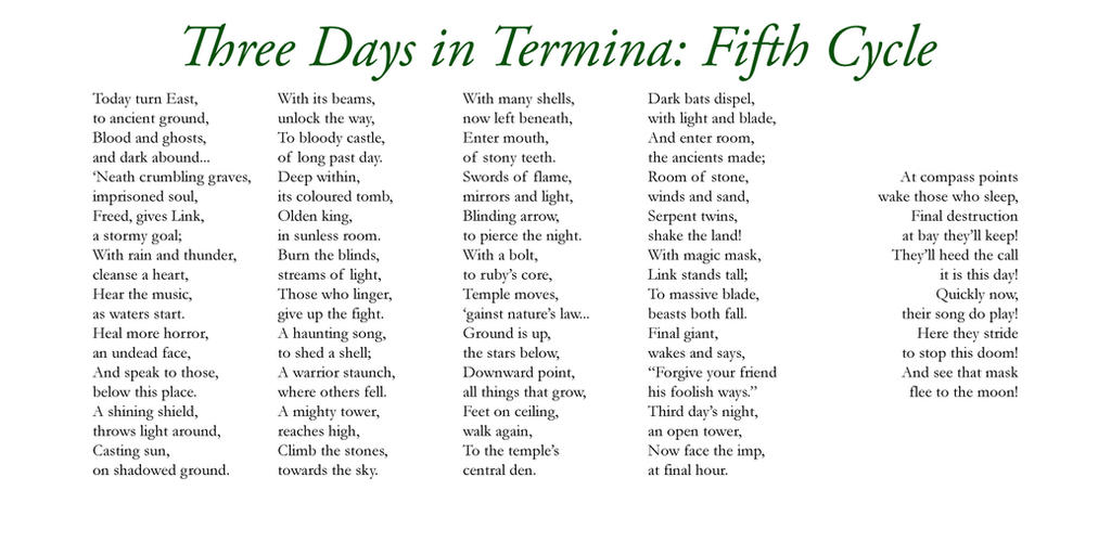 Three Days in Termina - Five by Liefesa