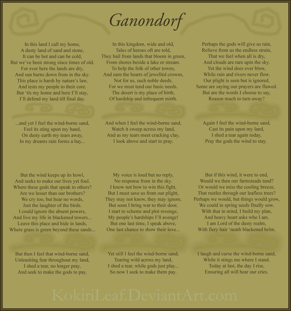 "The Legend of Zelda: Return to Twilight ""Discussion"" - Page 4 Ganondorf_by_kokirileaf-d4lr6yq"