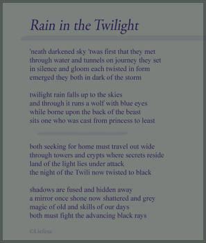 Rain in the Twilight