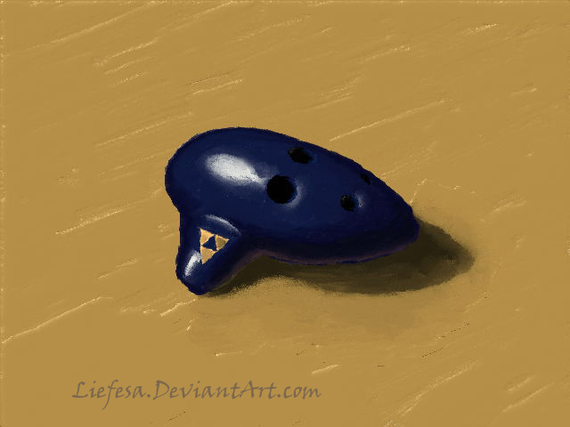 Quick Ocarina Painting by Liefesa