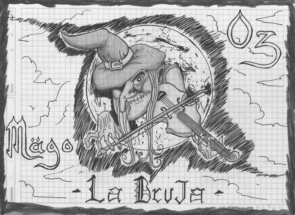 mago de oz la bruja dibujo by jordandorra on DeviantArt
