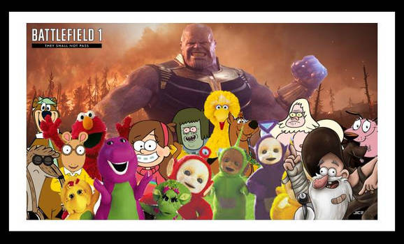 Awesome Poster Featuring Ur Favotite Heros by AlolanGodzilla