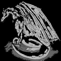 Pern Dragon Base Template by Miyuko142