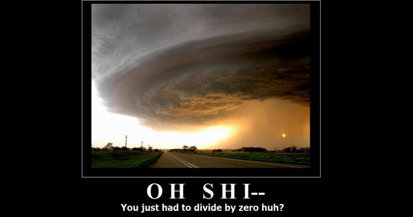 Divided by Zero. OH SHI-- by deazralei