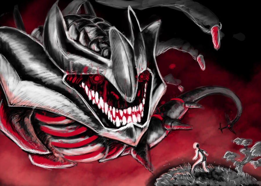 Origin Giratina in Red by Sieberwolf on DeviantArt