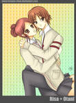 -- Lovecom: Risa + Otani --