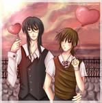 - Shonen ai Valentine's Day - by Kurama-chan