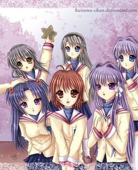 -- The Clannad girls --
