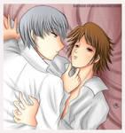 -- P4: Souji x Yosuke --