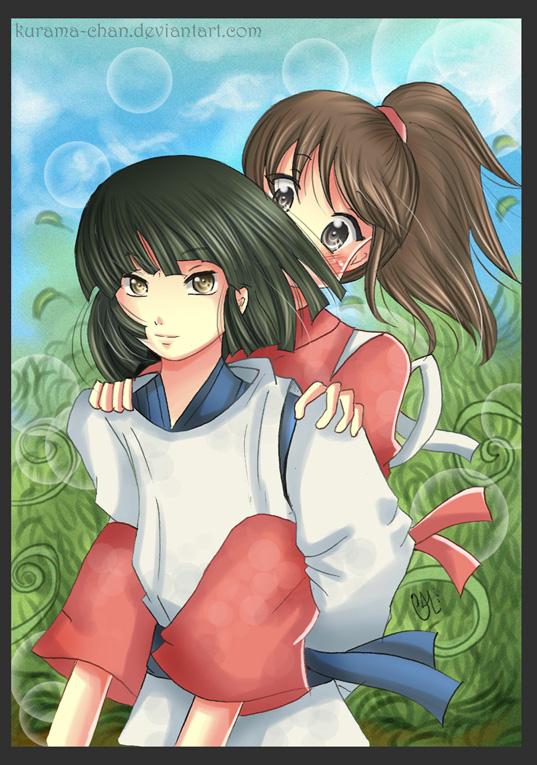 -- AT: Haku and Chihir...