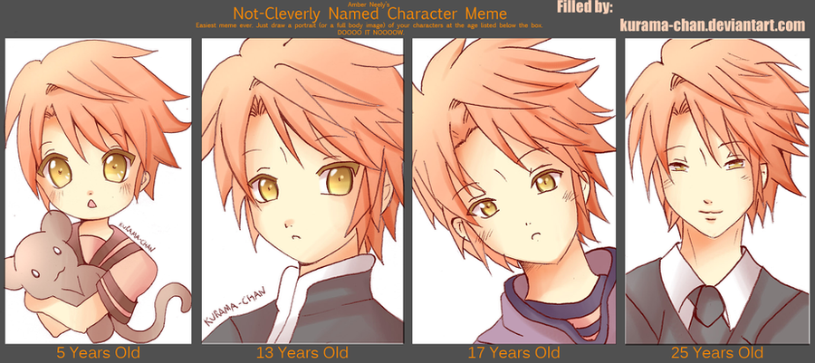 7 Year Old Anime Characters : Character age meme tomoya by kurama chan on deviantart