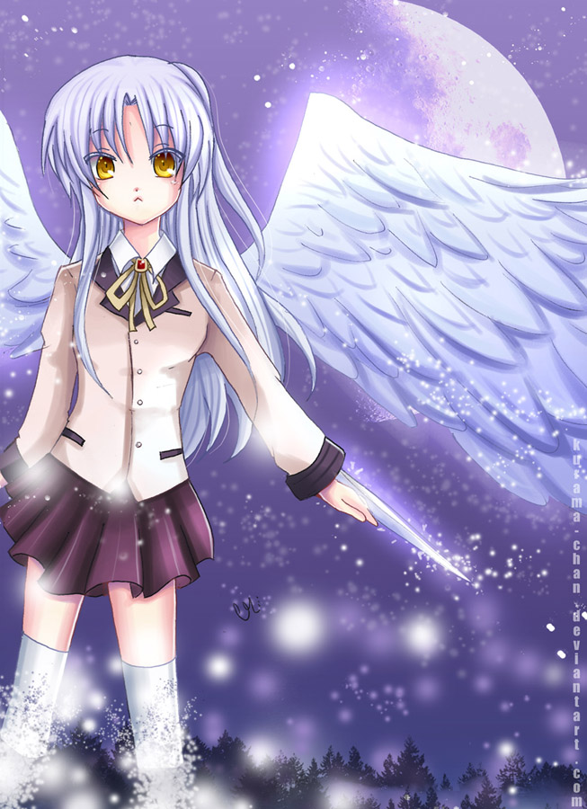 -- Angel beats: Tenshi -- by Kurama-chan