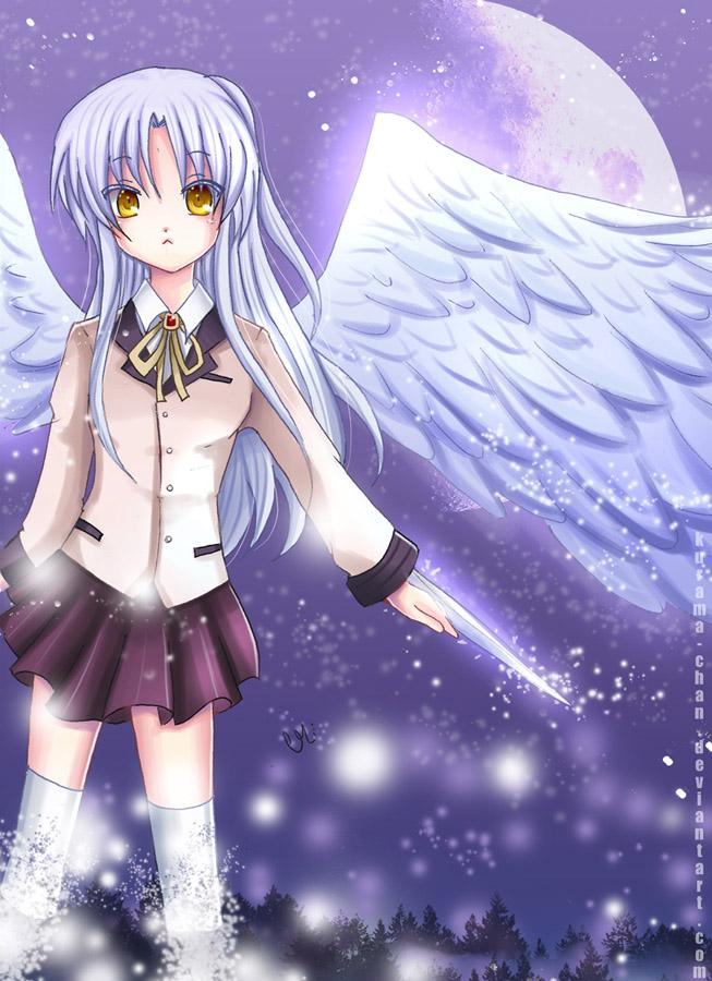 Angel Beats Tenshi By Kurama Chan