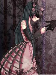 -- Ciel as Deformed Diva -- by Kurama-chan