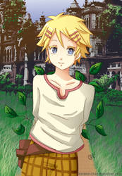 -- Kuroshitsuji: Finny -- by Kurama-chan
