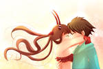 -- C : I love you 40x more --
